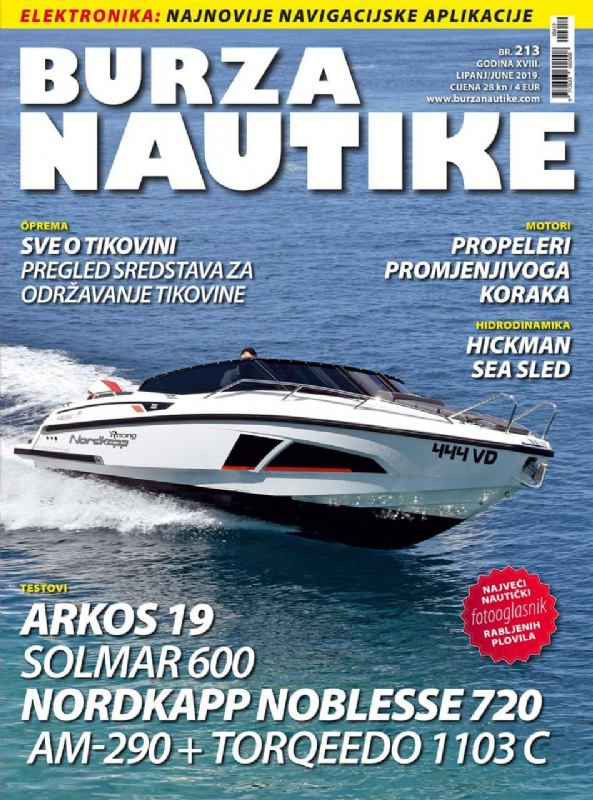 erfahrungen und bewertungen Kristijan Antic Fachzeitschift Titelseite Burza Nautika