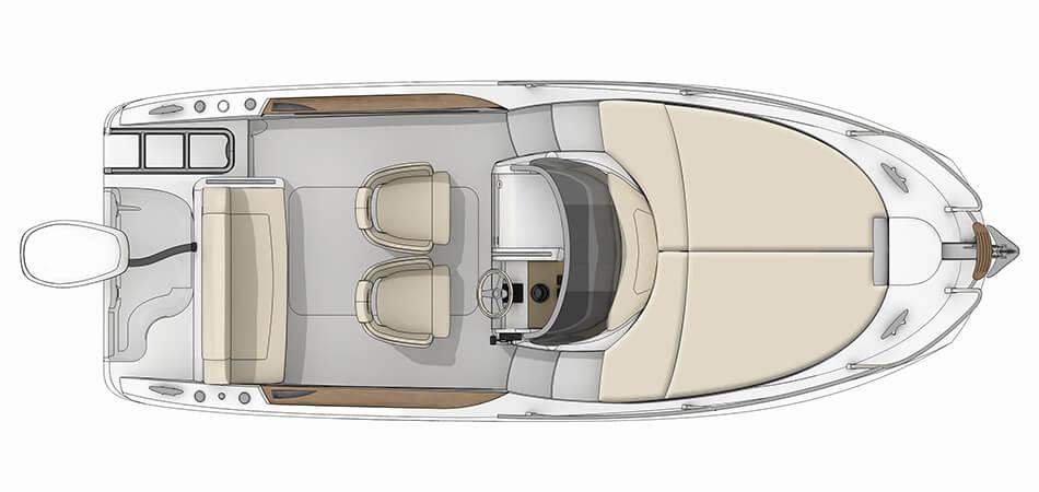 Motorboot Charter - Sessa 20 KeyLargo Boot ausleihen in Kroatien