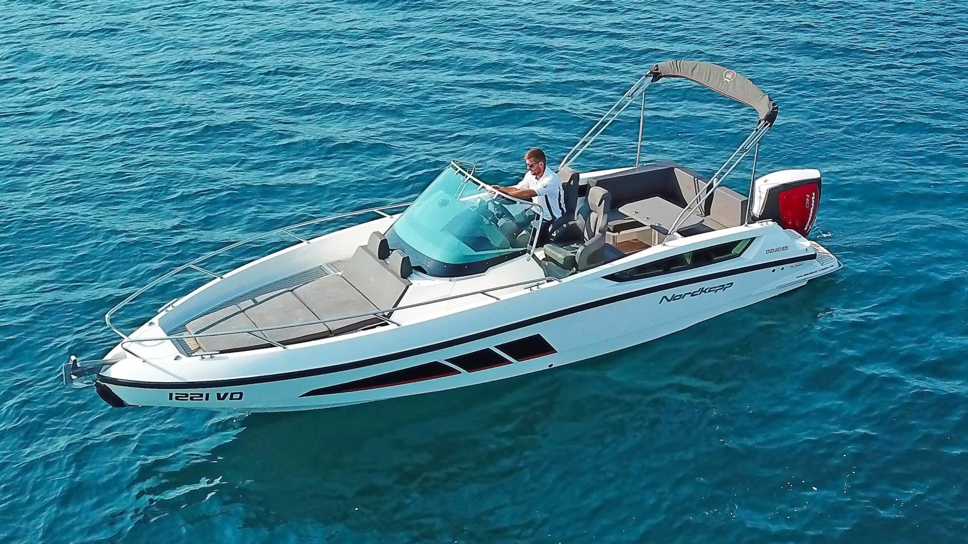 Sportboote & Motorboote Boot Charter in Kroatien - Boot Nordkapp 805 Enduro