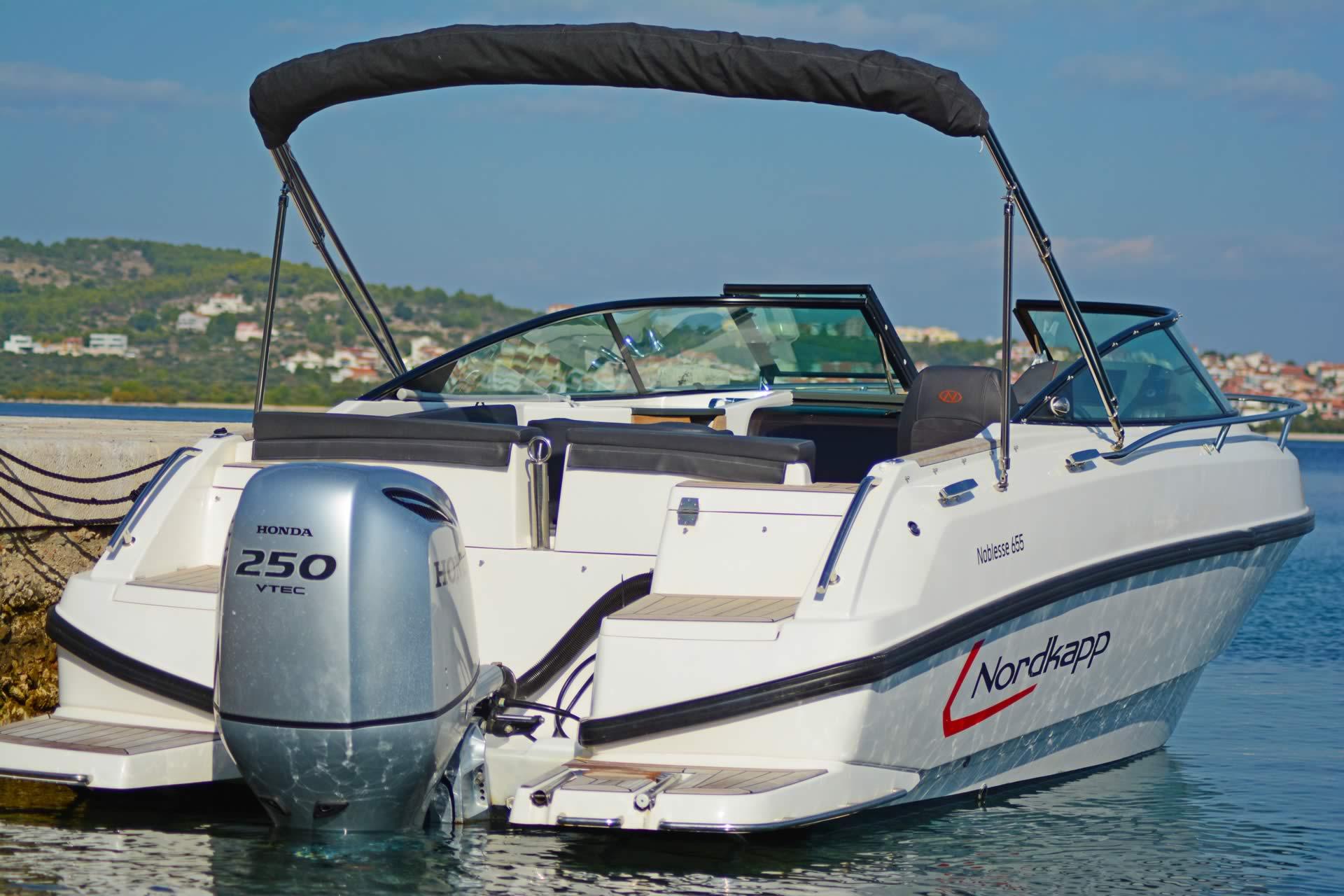 Boot Kroatien mieten in Vodice - Nordkapp 655 Noblesse