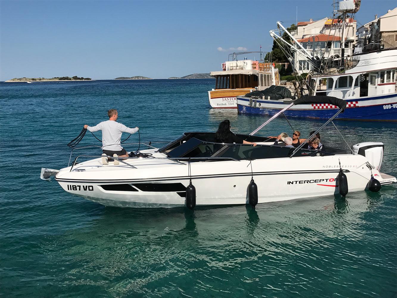 Skippertraining in Kroatien mit Motorboot