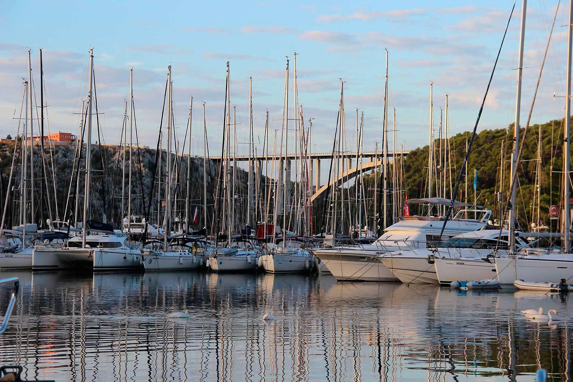 Marinas in Kroatien - Marina Skradin