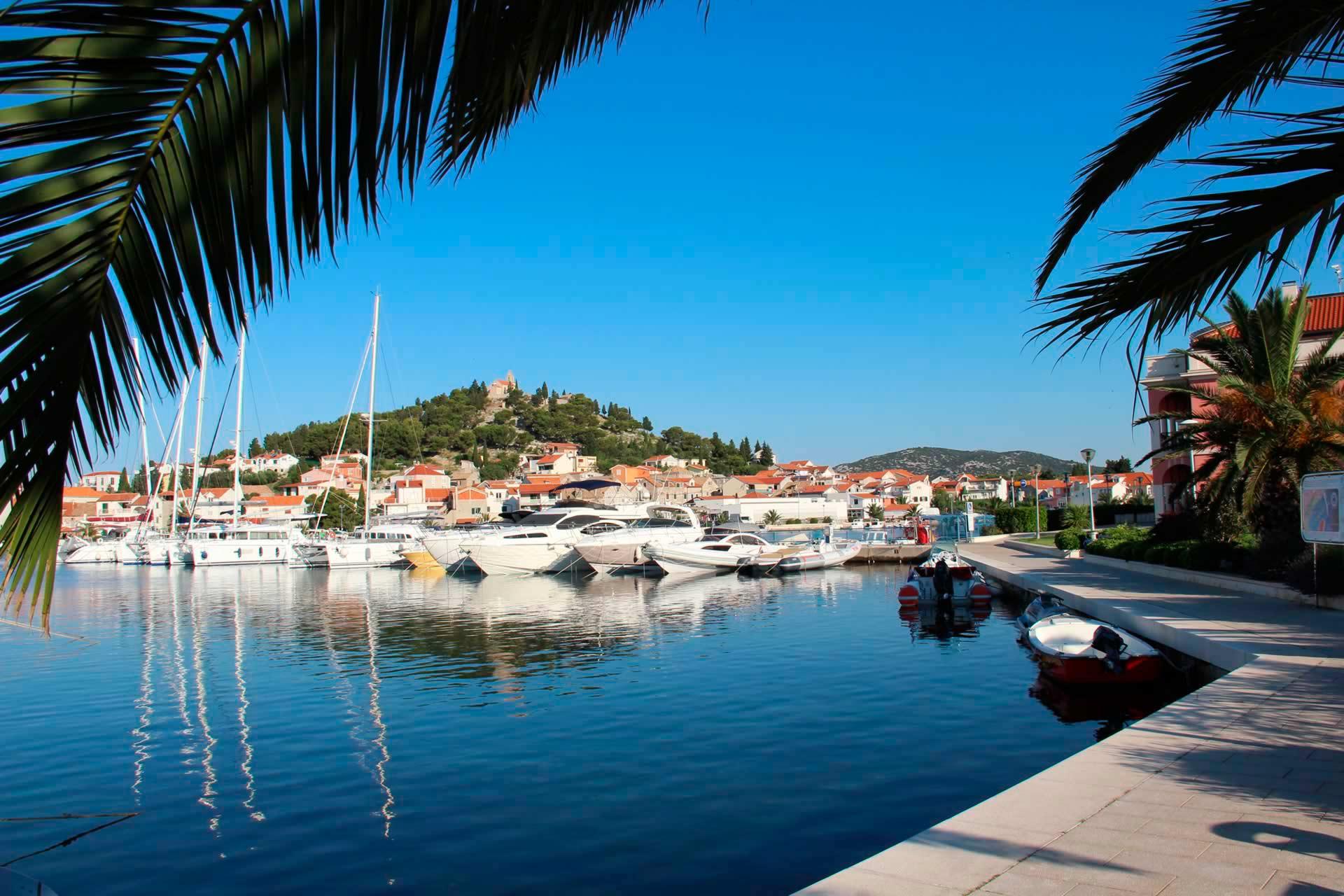 Marinas in Kroatien - Marina Tribunj