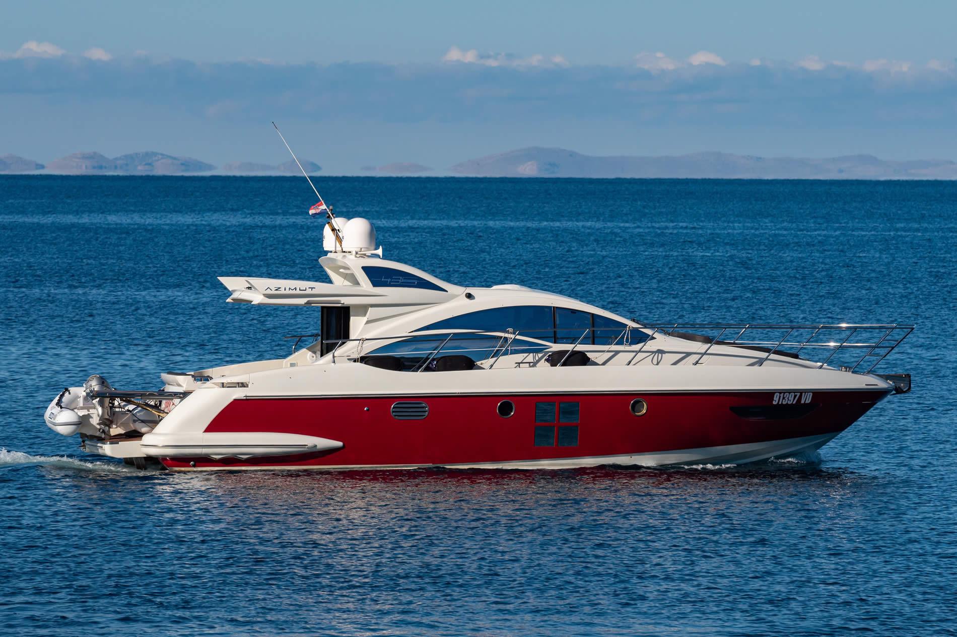 Motoryachten & Motorboote in Kroatien Azimut S43