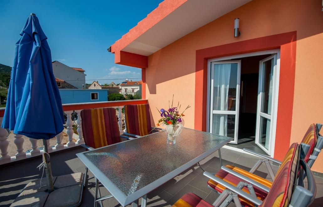 Ferienhaus mit Boot in Kroatien