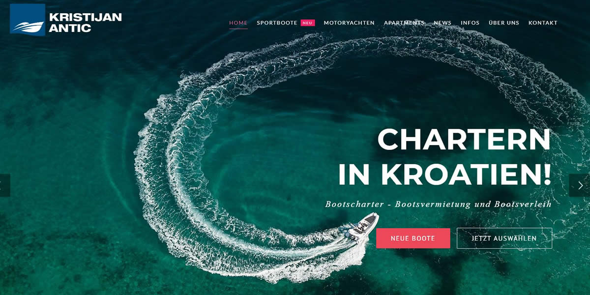 Kristijan Antic Neue Homepage
