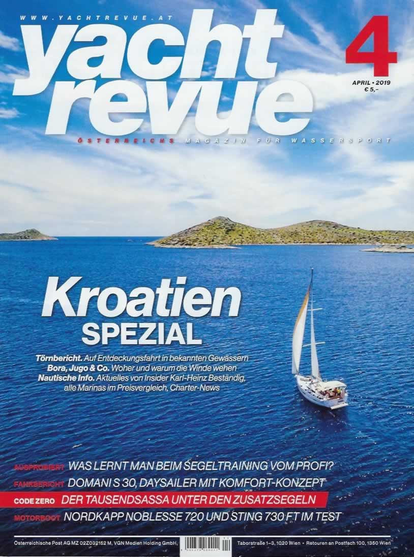 Yacht Revue Kristijan antic Erfahrungen Bewertung