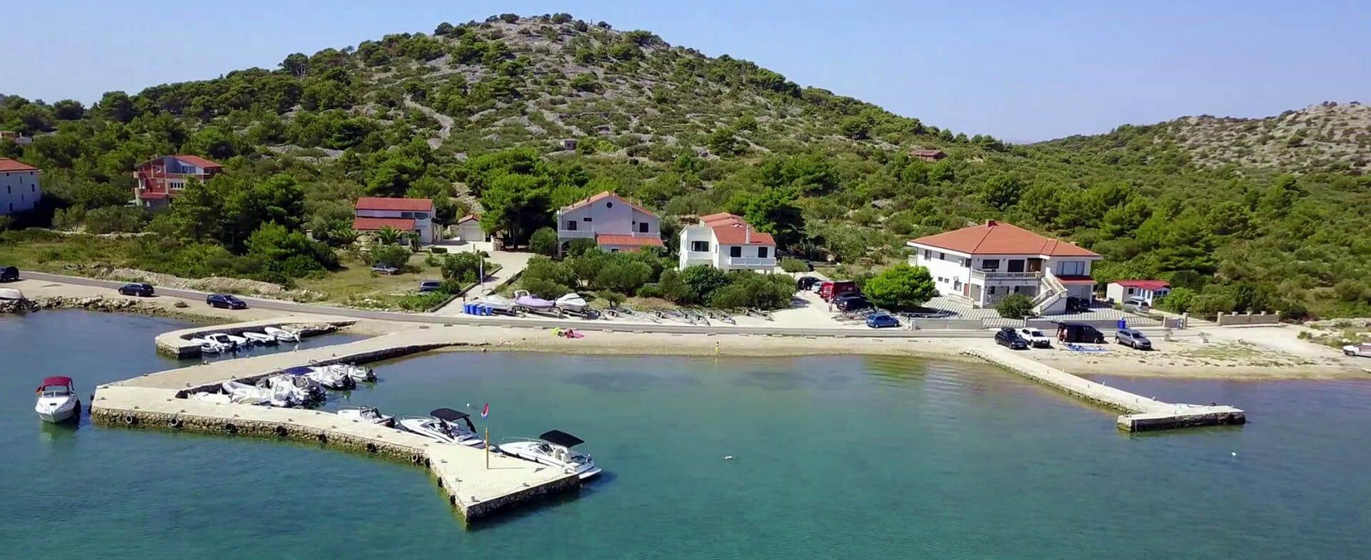 Kroatien Apartment mit Bootsliegeplatz Vila Petra