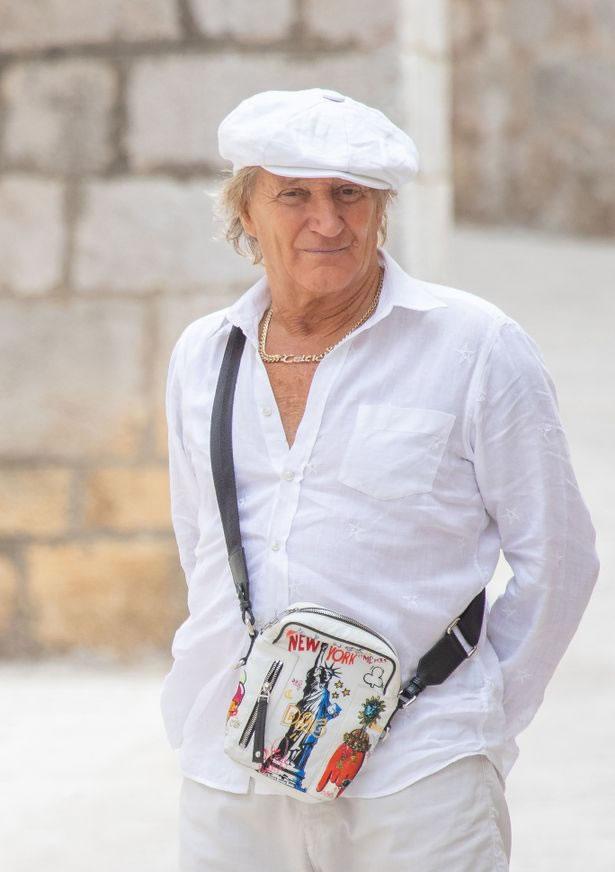 Rod Stewart Yachturlaub in Kroatien