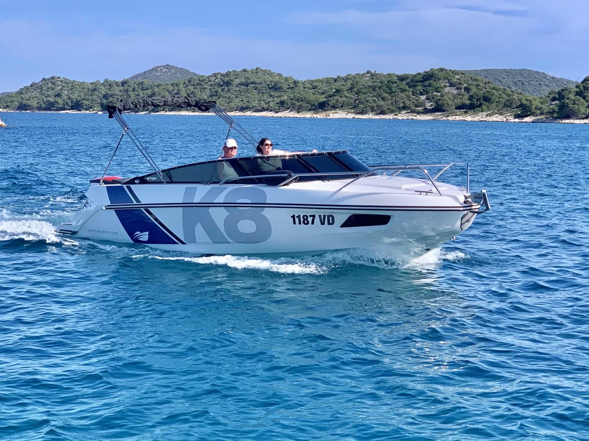 Motorboot mieten Kroatien Nordkapp K8