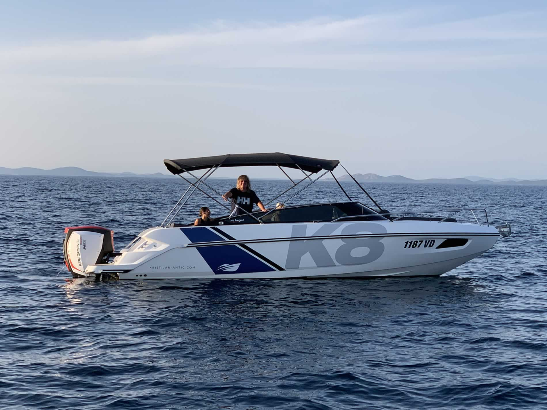 Kroatien Motorboot mieten Nordkapp K8