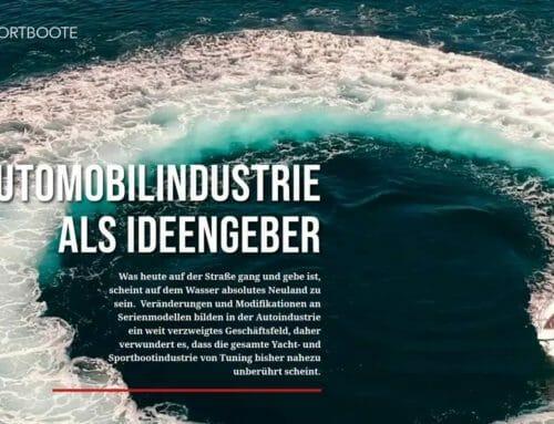 """Der Hugo Boss der Sportboote-Welt"""