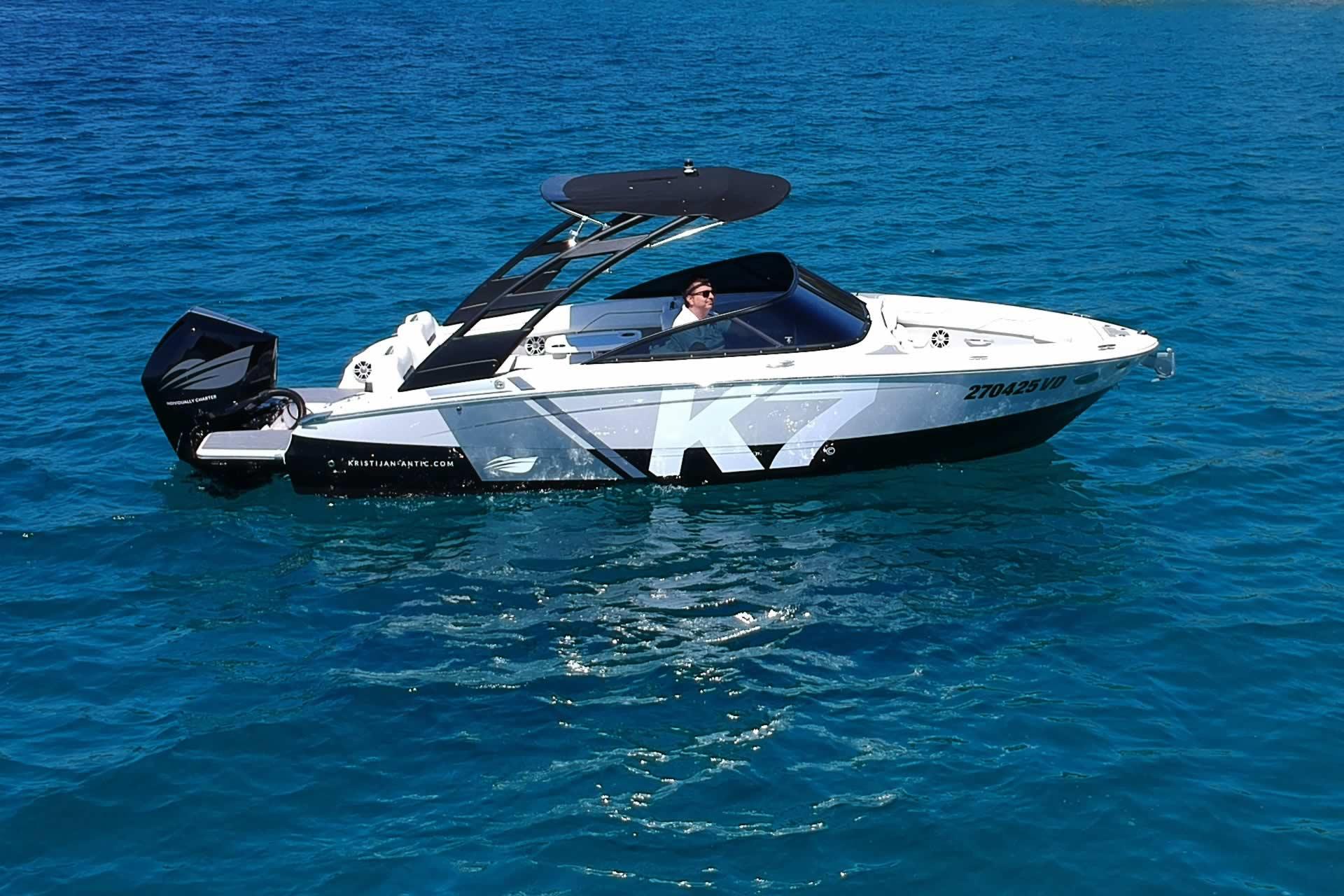 Sportboote & Motorboote Bootsvermietung in Kroatien Regal K7